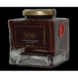 Confettura extra di Fragoline ai fiori di zagara & champagne rosè