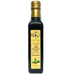 Olio evo aromatizzato al basilico